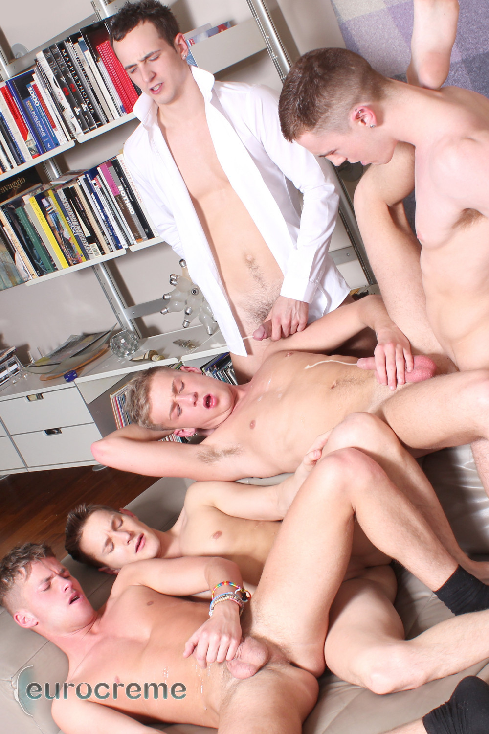 Eurocreme Darius JP McKensie Danny and Luke Big Cock Twink Orgy Amateur Gay Porn 10 Birthday Party Turns Into a Big Cock Amateur Twink Orgy