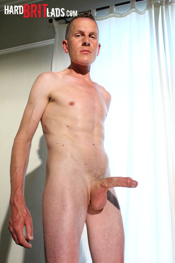 Hard Brit Lads Justin Cole Huge Uncut Cock and Big Balls Masturbating Amateur Gay Porn 09 British Guy With Big Uncut Cock And Huge Balls Jerks His Cock And Fingers His Ass