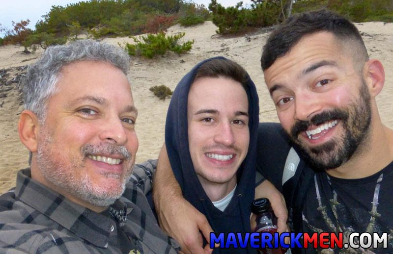 Maverick Men Danny Two Older Guys Fucking A Hairy Young Ass In The Woods Bareback Amateur Gay Porn 6 Two Amateur Sexy Daddies Bareback Their Young Buddy In The Woods