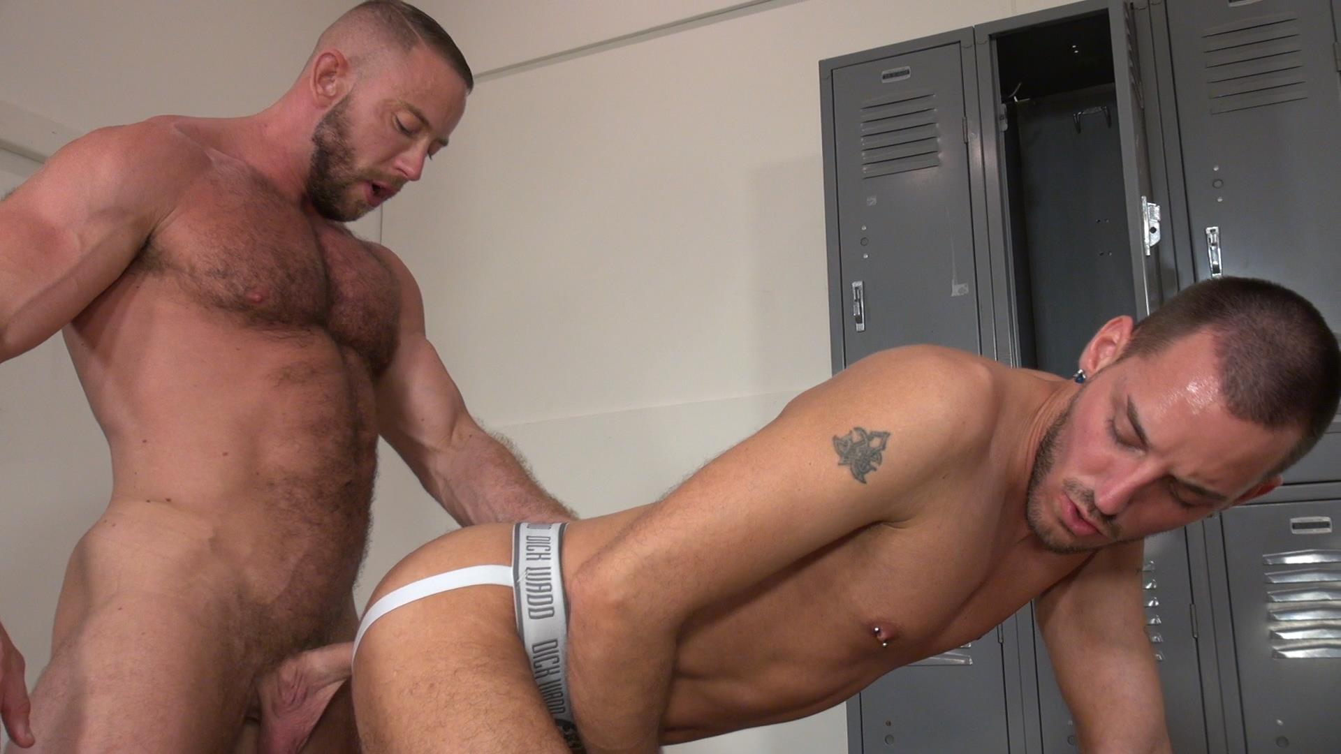 Raw and Rough Gio Ryder and Shay Michaels and Parker Jock Gets barebacked by two muscle daddy Amateur Gay Porn 01 Jock Sniffing Slut Gio Ryder Takes Bareback Cocks Up The Ass
