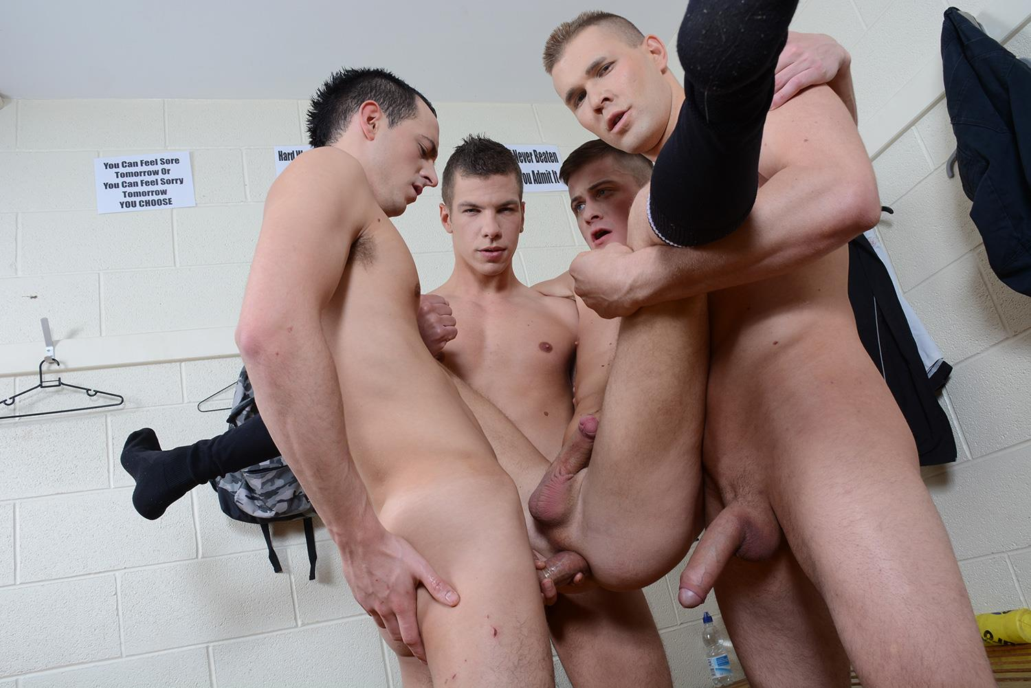 Staxus Sportladz Jordan Fox and Luke Desmond and Paul Walker and Skylar Blu Amateur Gay Porn 11 World Cup Fever: Uncut Soccer Players Fucking In The Locker Room