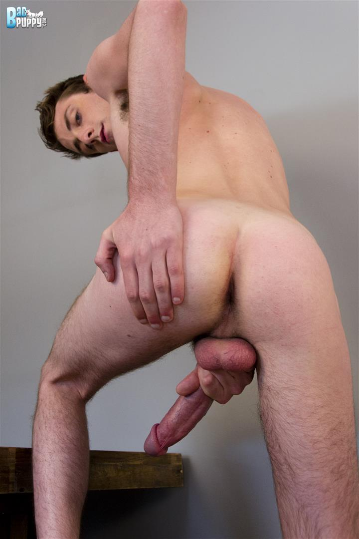 BadPuppy-Ian-Ticing-White-Twink-With-A-Huge-Cock-Jerking-Off-And-Cum-Amateur-Gay-Porn-15 Amateur Twink With A Huge Cock Shoots Cum All Over