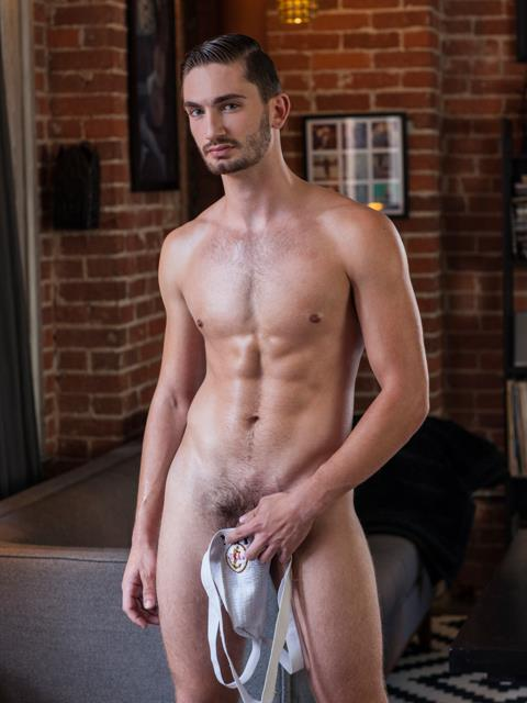 Randy Blue Preston Cole GQ looking Guy With A Huge Uncut Cock Jerking Off Amateur Gay Porn 08 Hottie Preston Cole Jerking His Huge Uncut Cock