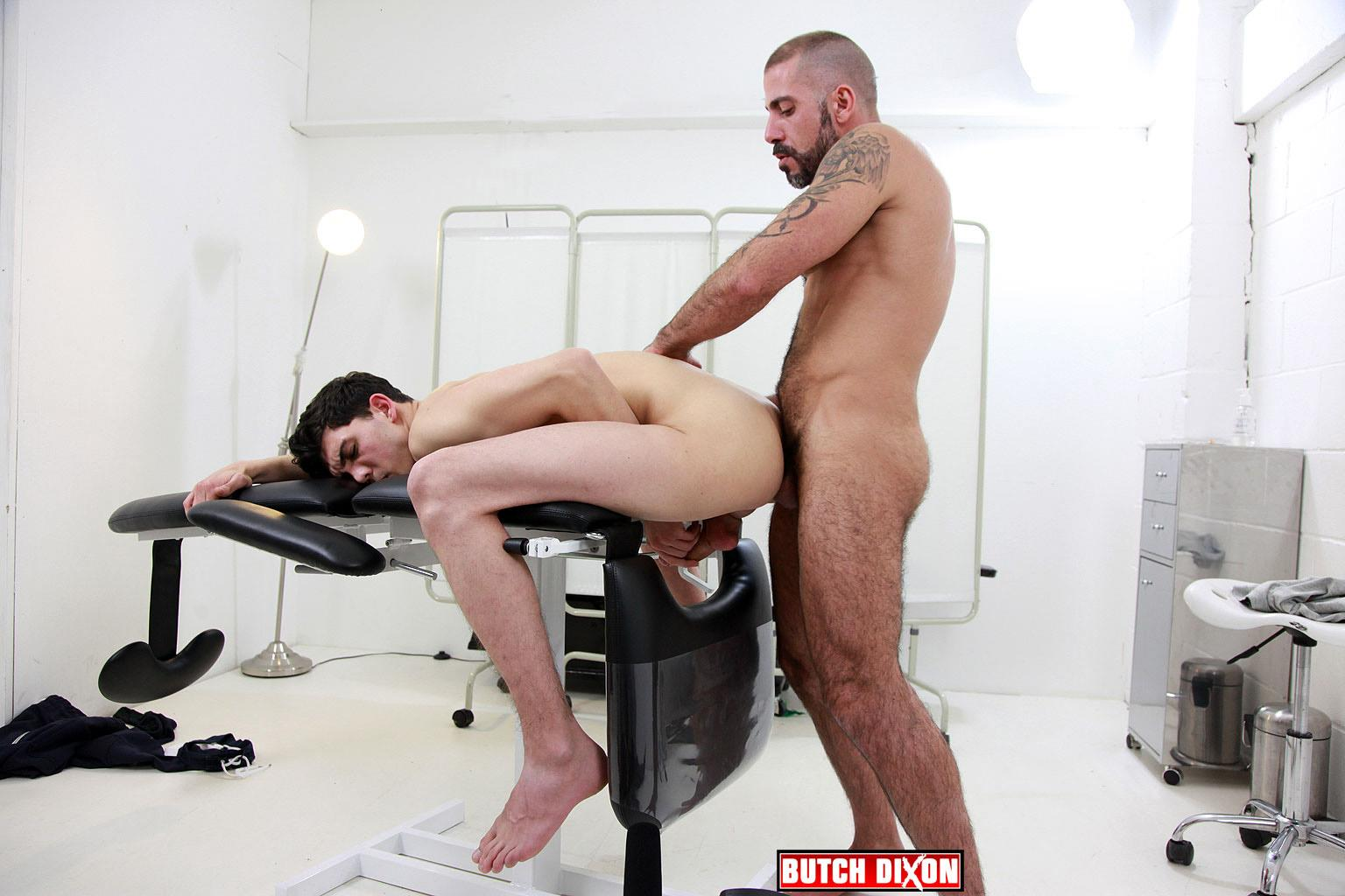 Butch Dixon Michel Rudin and Luke Tyler Big Uncut Cock Fucking Amateur Gay Porn 21 Hairy Muscle Hunk With A Big Uncut Cock Fucking A Smooth Younger Guy