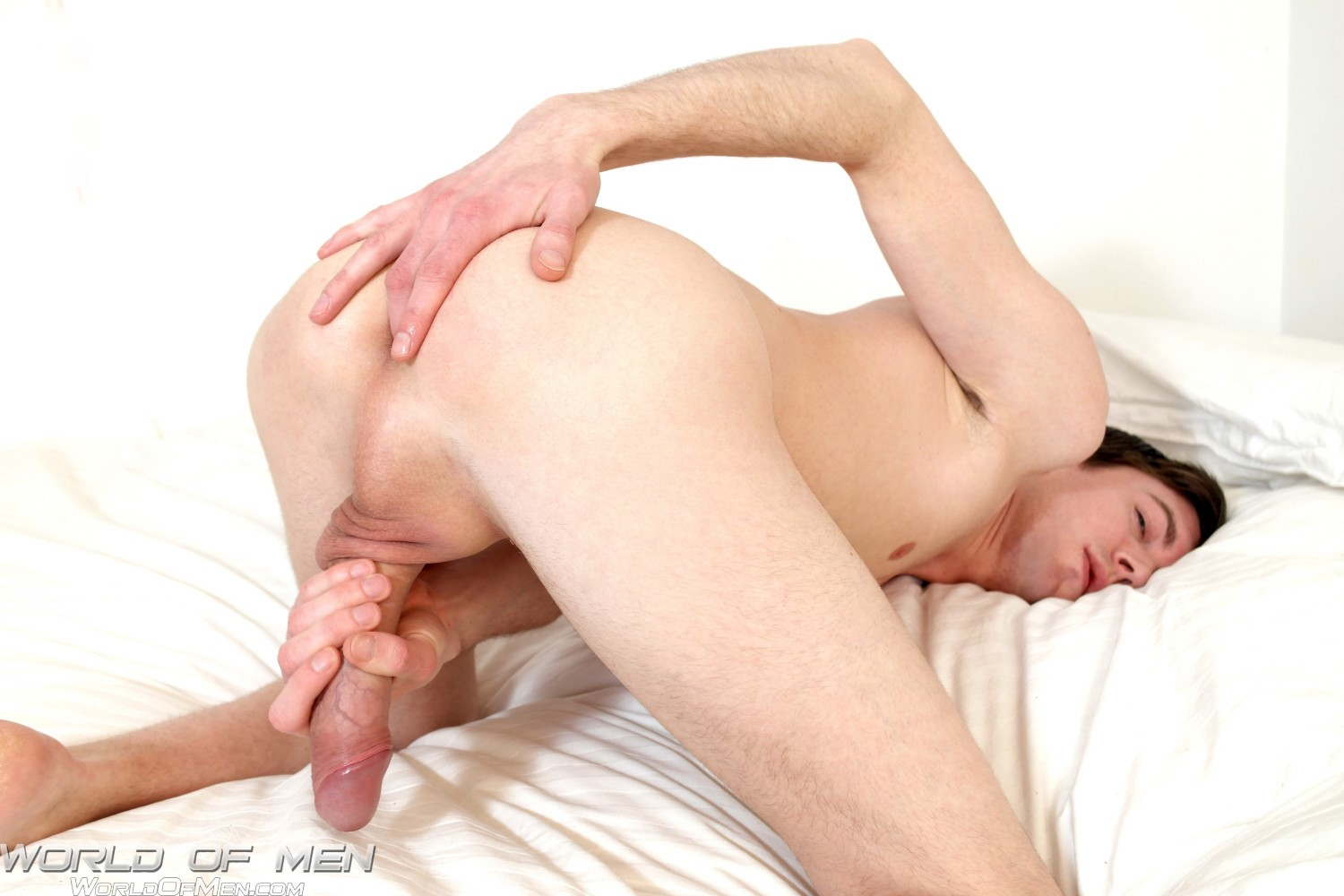 World-of-Men-Bjorn-Swedish-Twink-With-A-Big-Uncut-Cock-Amateur-Gay-Porn-08 Swedish Twink Fingers His Ass And Jerks His Big Uncut Cock