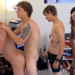 Fraternity X College Frat Guys Naked and Fucking Bareback Amateur Gay Porn 08 150x150 Drunk Frat Guys Getting Stoned and Barebacking A Freshman Pledge