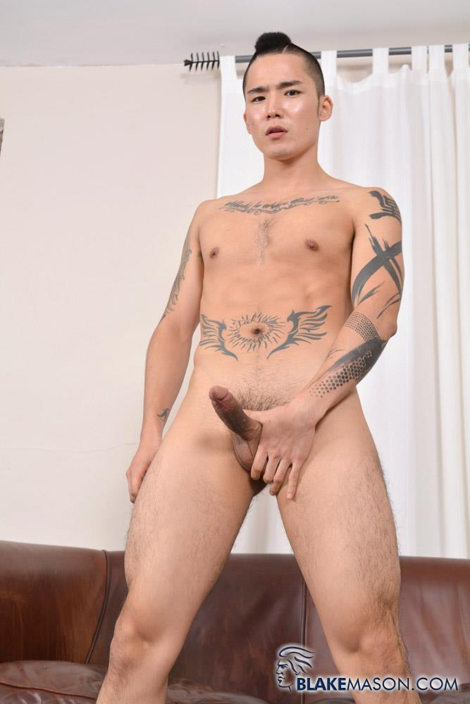 Blake-Mason-Yoshi-Kawasaki-Asian-Twink-Jerking-Off-Amateur-Gay-Porn-08 Japanese Twink Stroking His Big Asian Cock