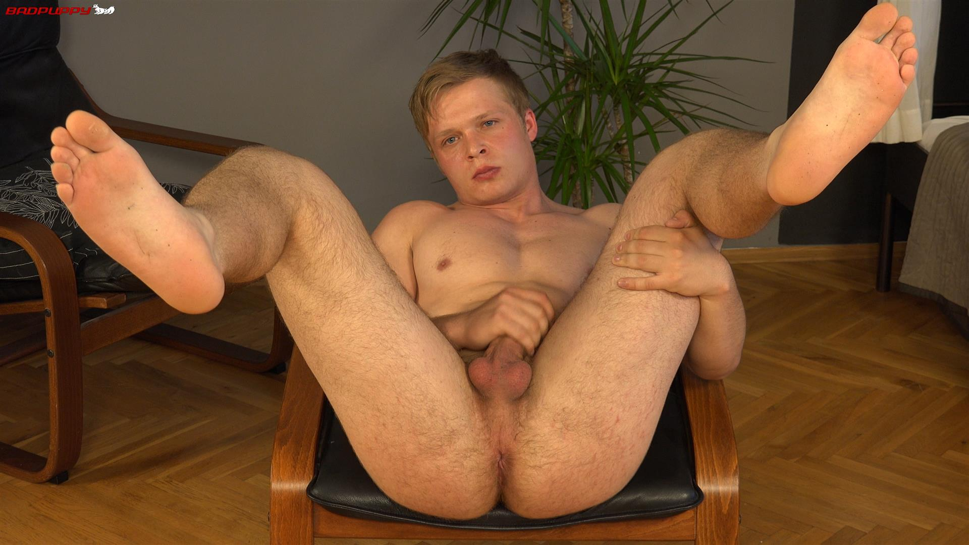 Badpuppy-Kamil-Apolon-Czech-Muscle-Twink-With-Big-Uncut-Cock-Amateur-Gay-Porn-15 Czech Muscle Twink Jerks His Big Uncut Cock For Cash
