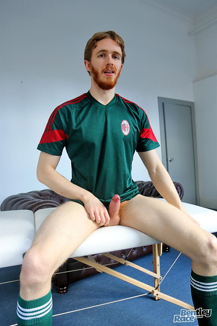 Bentley Race Tomas Kyle Redheaded Jock With A Big Uncut Cock 10 Ginger Jock Busts Out His Big Uncut Cock And Hairy Balls