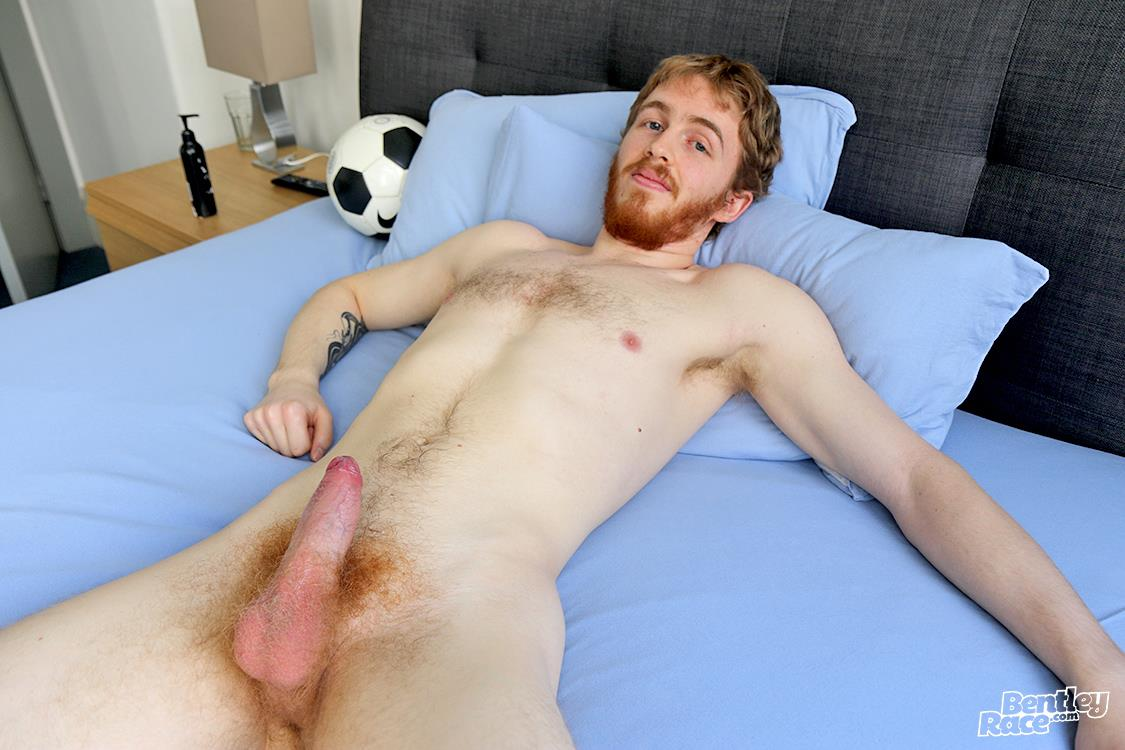 Bentley-Race-Tomas-Kyle-Redheaded-Jock-With-A-Big-Uncut-Cock-25 Ginger Jock Busts Out His Big Uncut Cock And Hairy Balls
