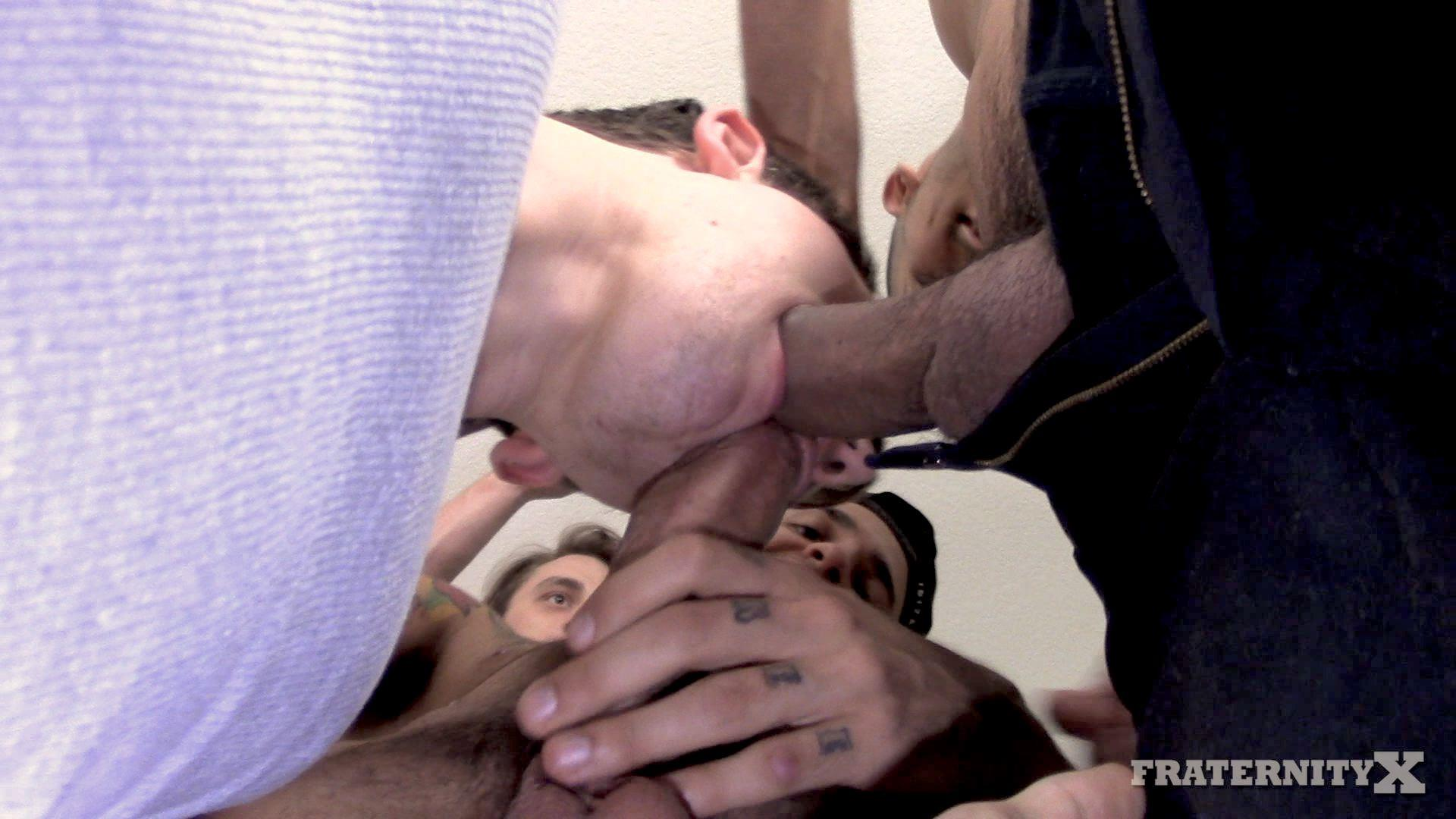 Fraternity-X-Naked-Frat-Guys-Gay-Bareback-Sex-Video-03 Drunk Naked Frat Boy Takes Five Raw Cocks Up The Ass
